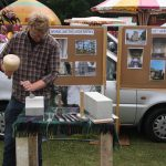 1. Stonemason Sam Walker at the 2017 Snodland Carnival